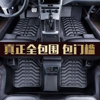 Myfmat custom foot leather car floor mats for Cadillac CTS CT6 SRX Escalade SLS seville luxury sedan ATSL XT5 ATS CT6 PLUG IN