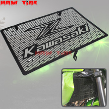 Нержавеющаясталь мотоцикл решетка радиатора гвардии Обложка протектор для Kawasaki Z750 Z800 ZR800 Z1000 Z1000SX