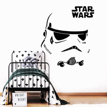 DIY Art Star Wars Stickers Home Decoration Nordic Style Pvc Wall Decals Accessories