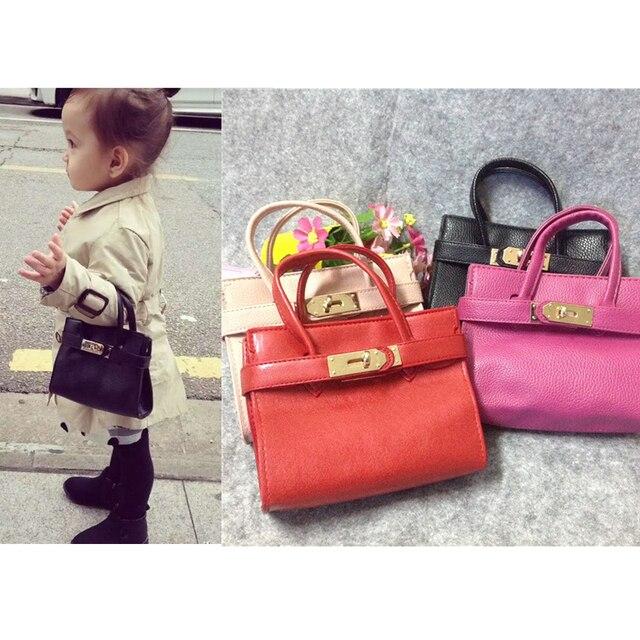 Handbag Cute Kids Purse Children imitation leather Princess Party Crossbody  Bag For Baby Girls 38ed50b3830bc