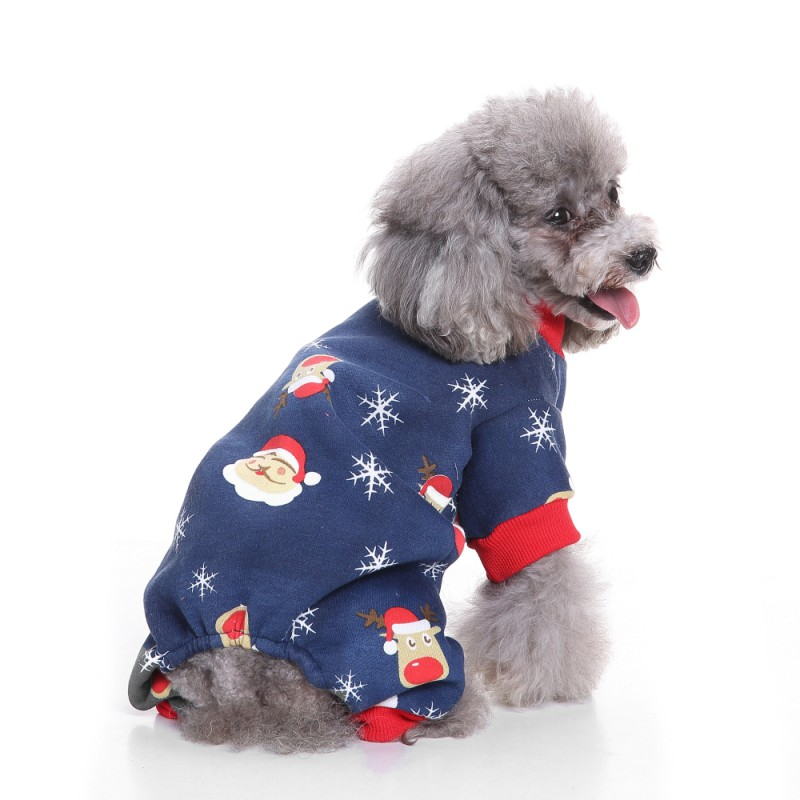 Home & Garden Clever Christmas Pet Dog Coat Four Leg Fleece Coat Jackets For Chihuahua Yorkshire Dog Jumpsuits Rompers Coats Pet Dog Clothes