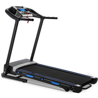 Electric Home Motorized Treadmill Foldable 12 Preset Programs