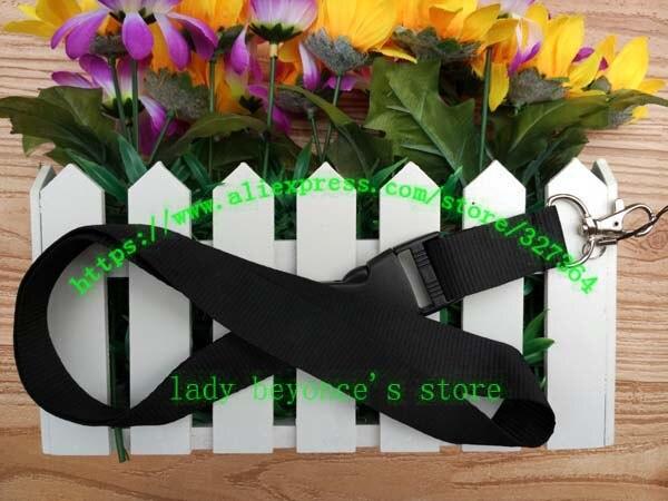 imágenes para Envío gratis 30 unids/lote negro cuello teléfono móvil acolladores llaveros correas accesso L-1030