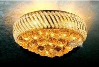 Palace Century 3 Light Flush Mount Crystal Ceiling Light Fixture Gold Plated Finish Guaranteed 100 Free