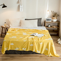 Фруктовые постельные принадлежности  одеяло 120x200 см  очень мягкое фланелевое одеяло высокой плотности для дивана  кровати  автомобиля  пере...