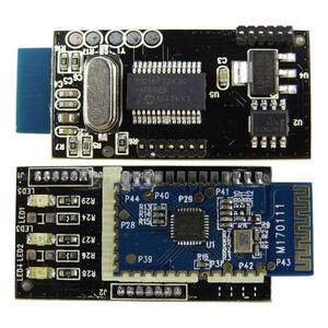 Image 2 - Herramienta de diagnóstico para coche, escáner de diagnóstico Mini Elm327, Bluetooth OBD2 V1.5, ELM 2020 V 327, Android PIC18F25K80 Real para Chip, novedad de 1,5