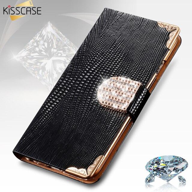 Diamond Luxury Rhinestone Wallet Case For Apple iPhone