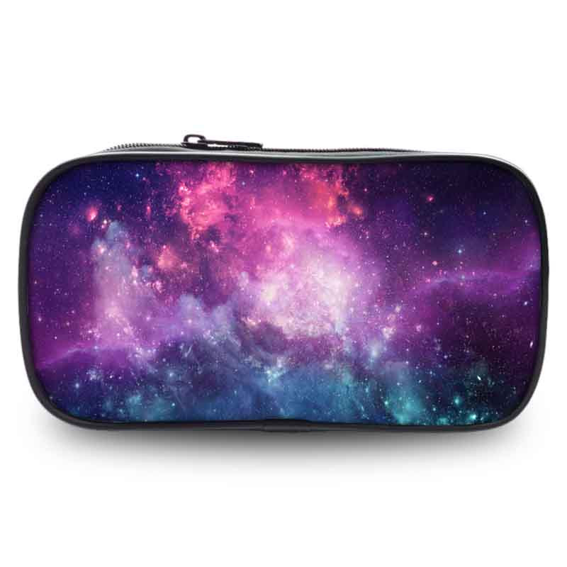 Starry Sky school Pencil 3D Case Kawaii Big Capacity Pen Bag For Girl Stationery Pouch Office School Printing Supplies Coin Case