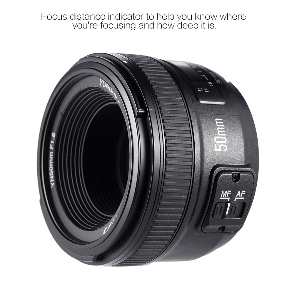 Yongnuo Yn50mm Lens F18 Large Aperture Auto Focus For Nikon Camera Diagram Labeled J1 V1 Mirrorless Interchangeable D3400 D7200 D3200 D3300 D5100 D5200 D5300 Dslr In From Consumer