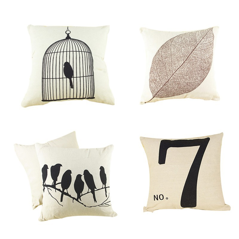 Gracious Home Decorative Pillows : Seat Cushion Without Core Animal Decorative Home Decor Sofa Chair Throw Pillows Decorate bird ...
