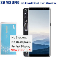 2960*1440 6.3 NEW ORIGINAL lcd Replacement with frame For Samsung Note 8 Lcd Display Touch Screen Digitizer Note8 N950 N950F