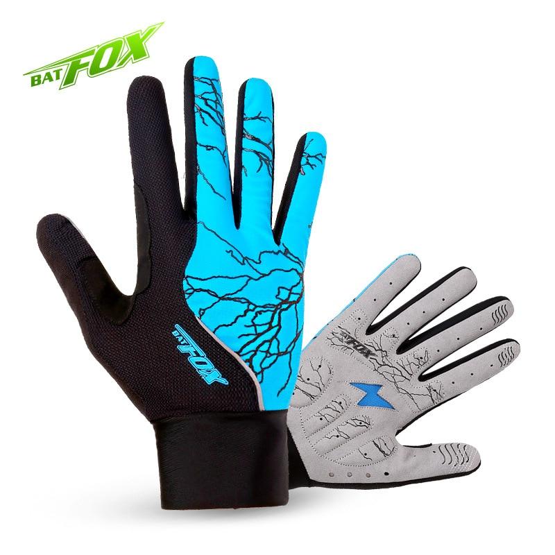 BATFOX winter <font><b>Cycling</b></font> gloves <font><b>full</b></font> finger mtb bicycle gloves men women female bike gloves long with fingers