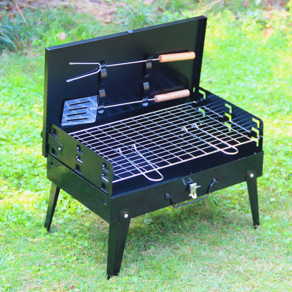 1 Pcs Hza 14 Outdoor Grill Suitcase Portable Barbecue Pits