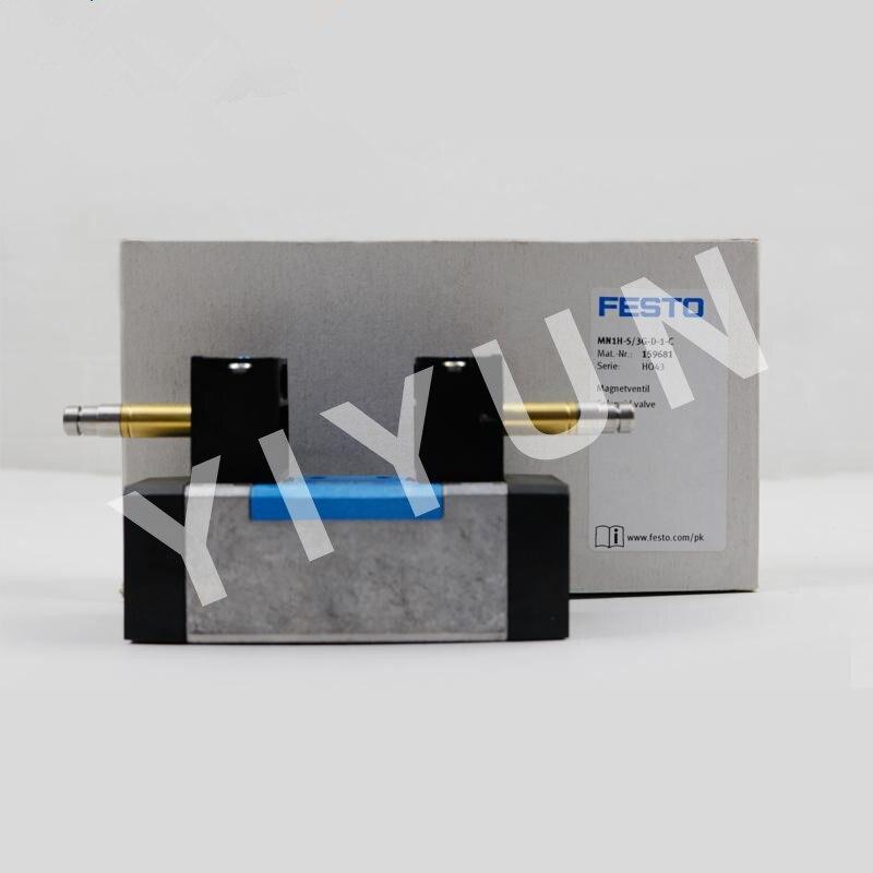 MN1H-5/3E-D-1-C 159683 MN1H-5/2-D-2-C MN1H-5/3G-D-1-C 159681 MN1H-5/2-D-3-FR-C 159711 FESTO Solenoid valve Pneumatic components
