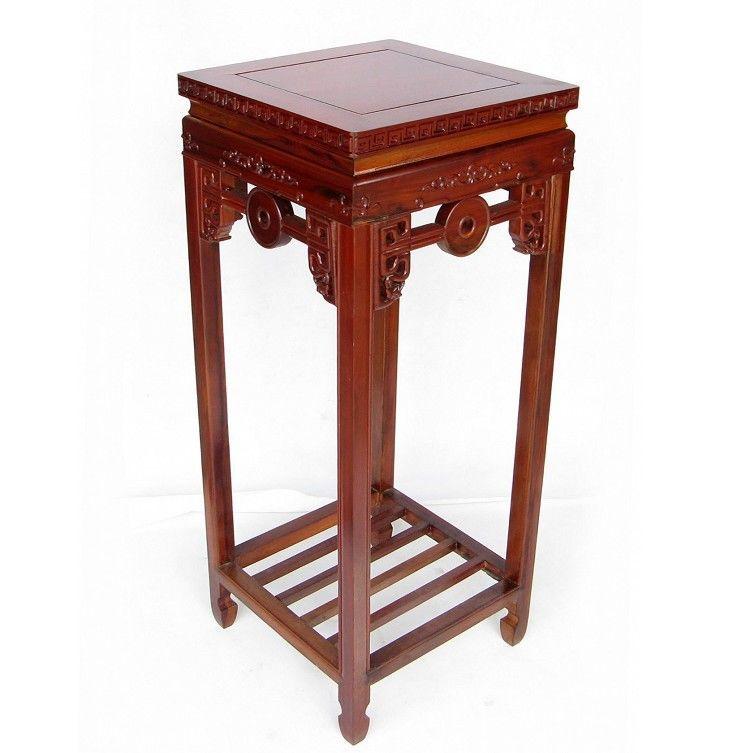 [] Сто лет классическая мебель из красного дерева антикварные ювелирные изделия несколько квадратных цветок Размер 90