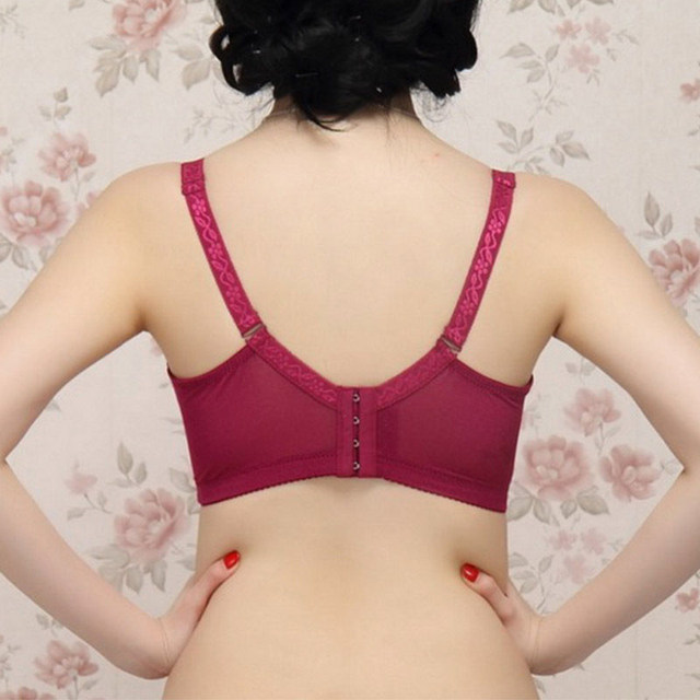 Big sizes 85D 90D 95D 100D 105D Women Bras 2018 Spring Summer Women Sexy Push Up Lace Bra Brassiere Underwire Lingerie Underwear 16