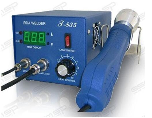 PUHUI T-835 IRDA Welder infrared SMD rework station can be worked with preheating station comfort 835