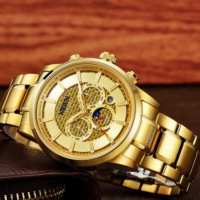 Luxury Brand NESUN Watch Multifunctional Display Automatic Self-Winding 2