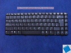 Używany wygląd jak nowy klawiaturze laptopa czarny 438531-031 PK130100280 do HP Compaq serii 520 (wielka brytania)
