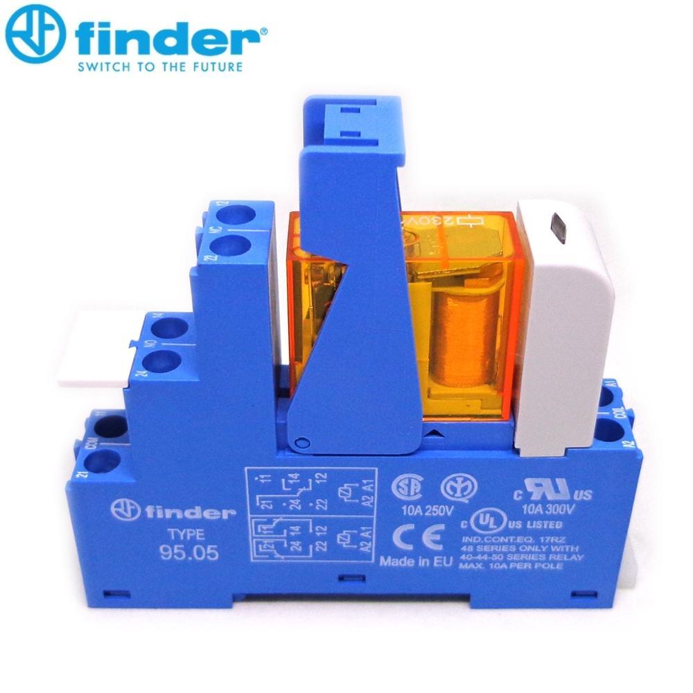 Реле finder, оригинальный видоискатель 48.52.8.230.0060 230VAC 8A 2CO