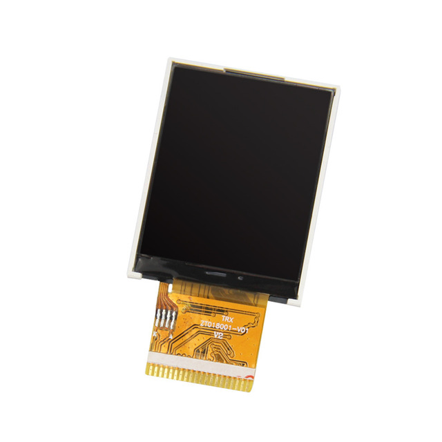 "1.77""inch TFT LCD 33.9*43.8*2.5 ST7735S/ILI9163V MPU-8 6O'Clock 128*160 20 Pin"