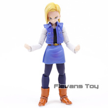 Anime Dragon Ball Z Android NO. 18 Lazuli Moveable PVC Action Figure Collection Model Kids Toys Doll