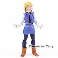 Аниме Dragon Ball Z Android NO. Подвижная фигурка из ПВХ 18 лазуритов, Коллекционная модель, детские игрушки, кукла