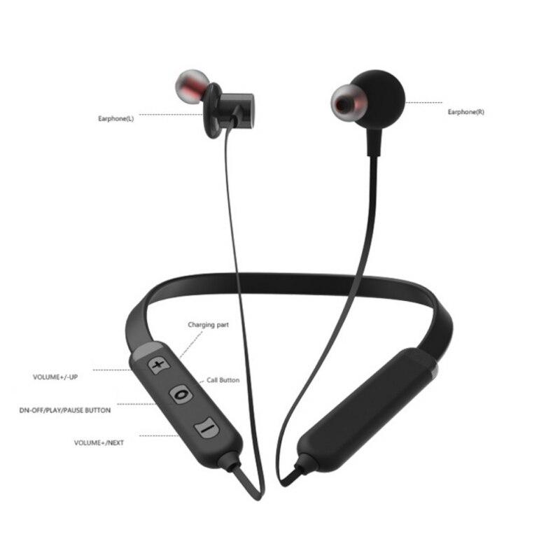 EDAL BT32 Binaural Wireless Magnetic Neck-mounted Earphones Sports Wireless Bluetooth headset Sports Headphones