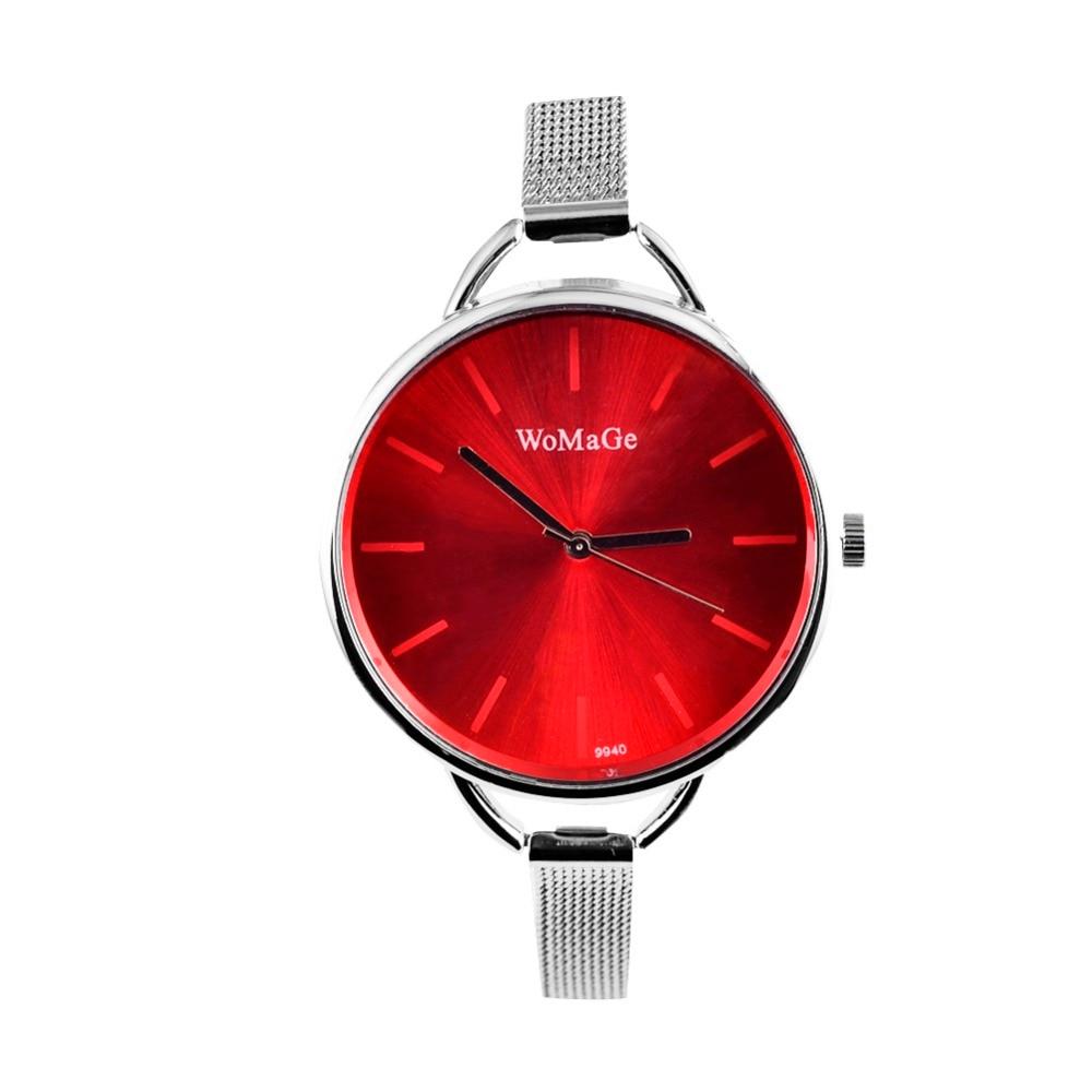 WoMaGe Brand Silver font b Watch b font font b Women b font font b Watches