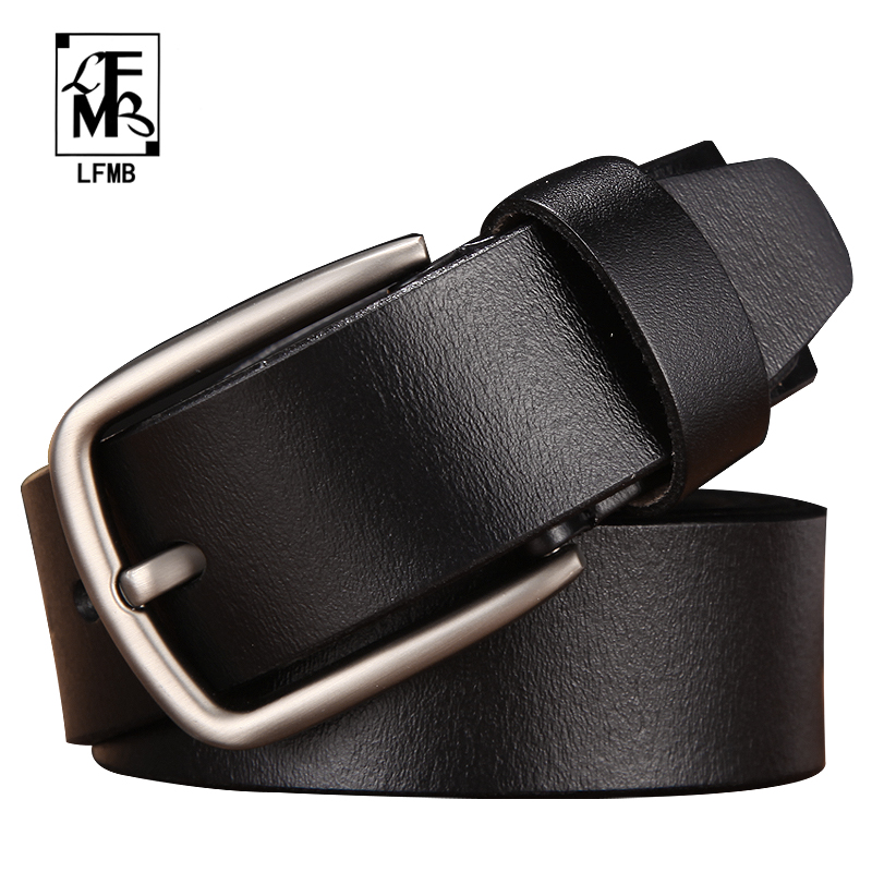 [LFMB]leather belt men male genuine leather strap trousers male strap genuine leather belt men ceinture homme cuir veritable