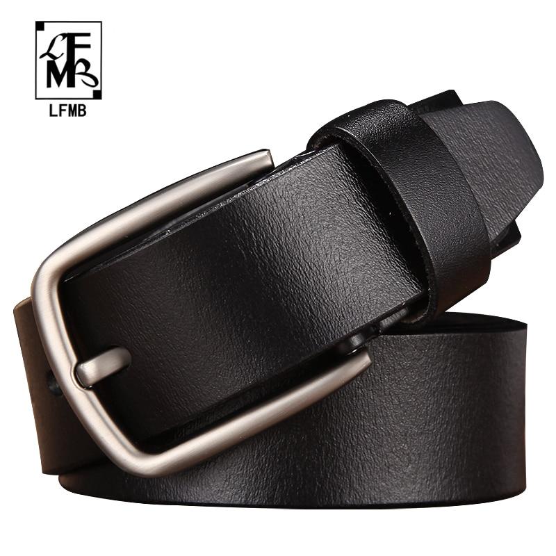 [LFMB]leather   belt   men male genuine leather strap trousers male strap genuine leather   belt   men ceinture homme cuir veritable