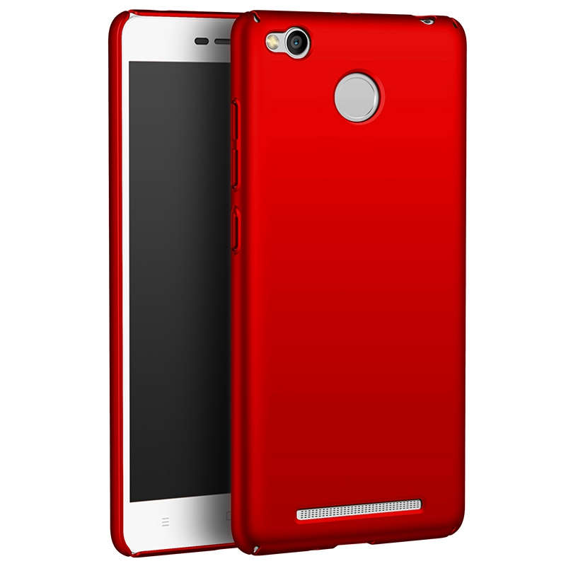 Case For Xiaomi Redmi 3S 3Pro Hard PC Plastic Matte Full Cover Phone Cases For Redmi 3 Pro 3 S Colorful Silky Back Cover Fundas