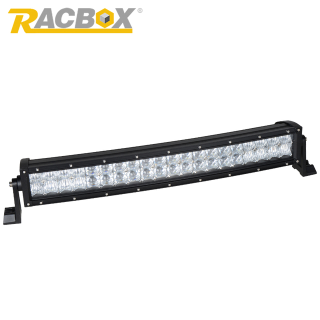 RACBOX 5D 22 32 inch 200W 300W  Curved LED Work Light Bar Offroad Camper 4WD Truck Tractor Boat SUV CREE Chips