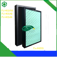FU-A420S Replacement Filter Dust Collection Heap Filter for Sharp FU-A420S FU-40SAW FU-40SAB FU-40SAR Air Purifier
