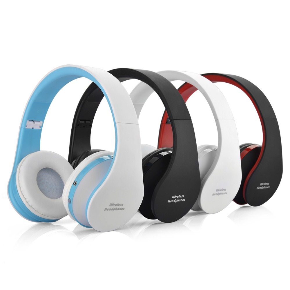 V3.0+EDR Foldable Wireless Headphones Game Headset Music Sport Bluetooth Earphone for iPhone Samsung HTC &PC Tablet Laptop