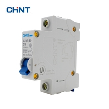 CHINT DZ47-60 C16 1P 16A Household Miniature Circuit Breaker With Over Current And Leakage Protection Air Switch