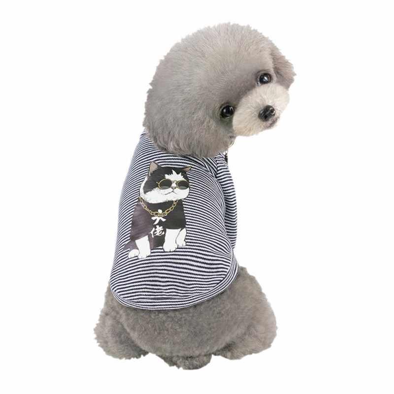 Huisdier Lente Zomer Vest Mooie Eend & Hip Hop Hond Afdrukken Hondenkleding Grappige Kleding Huisdier Hond Kleding
