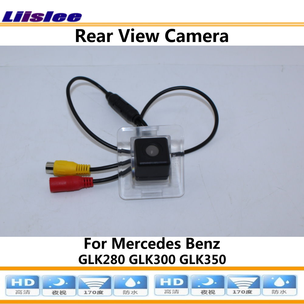 Liislee For Mercedes Benz GLK280 GLK300 GLK350 Car Reverse Rear View Camera Connect Original Factory Screen RCA Adapter in Vehicle Camera from Automobiles Motorcycles