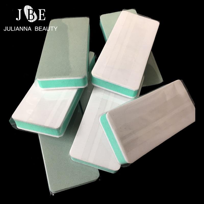 50PCS Side Nail Buffer Shiner Nail Art Sanding Files Buffer Block Pedicure Manicure Polish Professional Nail Files