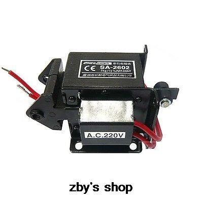 цена на SA-2602 220V 110V Stroke 15mm AC Tractive Solenoid Electromagnet 2KG 20N Force