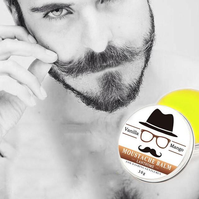 30g Bıyık Büyüme Balmumu sakal balsamı Besleyici Nemlendirici Krem Sağlık