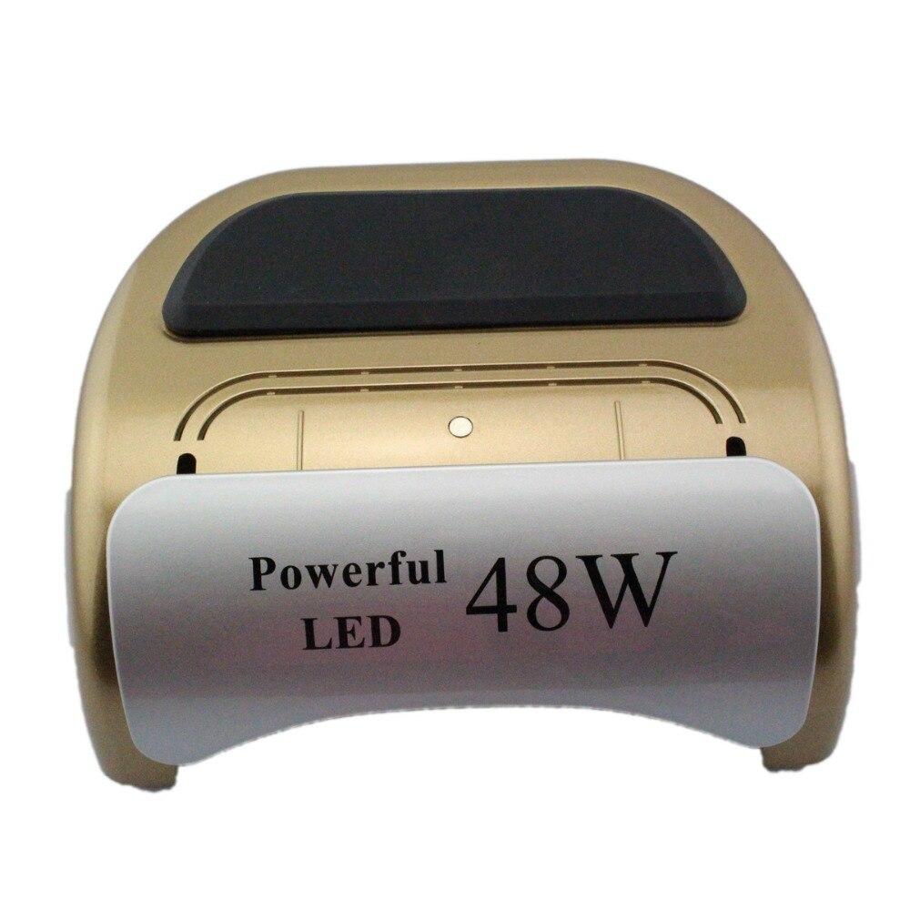 48W UV Lamp LED  Lamp UV Nail Dryer Nail Lamp = for UV Gel Nails Polish Nail Art Tools TP22 new pro 48w nail lamp manicure dryer fit uv led builder gel all nail polish nail art tools sun5 professional machine