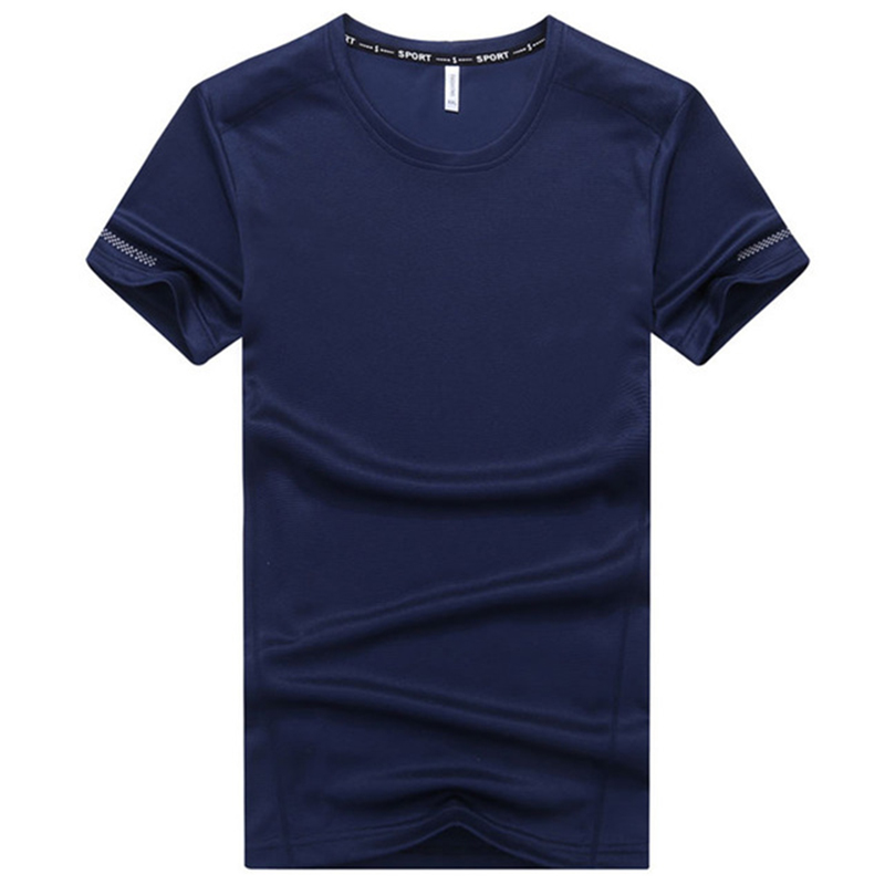 plus size 6XL 7XL <font><b>8XL</b></font> 9XL <font><b>T</b></font> <font><b>Shirt</b></font> Men 2020 Summer Fast Drying Men's <font><b>T</b></font>-<font><b>Shirt</b></font> Pure Color Tshirt O-neck Short Sleeve Tops Tees image