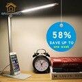 Lámpara de escritorio LED protección para Los Ojos lámpara de Mesa Moderna Lámparas led lámpara de escritorio lámpara de mesa para el dormitorio luz de Lectura de luz Ajustable ajustar