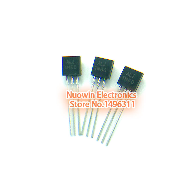 10pcs CS1N60 1N60 TO-92 N-Channel Power MOSFET 0.8A 600V