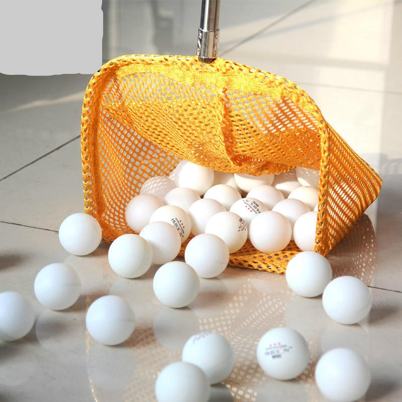 Table tennis net telescopic pick up the ball picking device