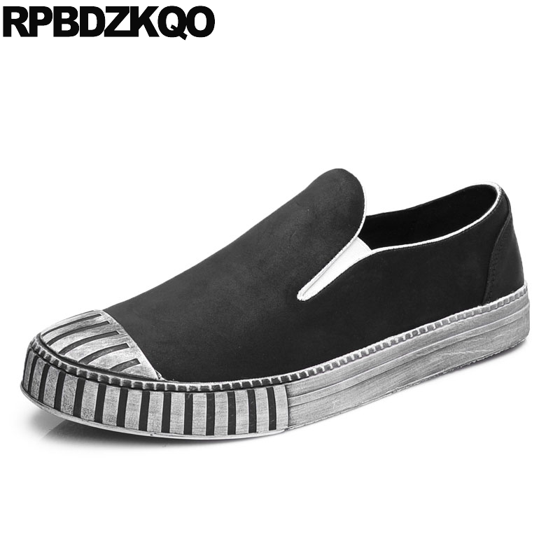 Casual Comfort Driving Slip On Loafers Men Slip-ons Shoes Fashion Spring And Autumn Black Autumn Stylish Spring Hot Sale Popular vesonal 2017 top quality lycra outdoor ultralight slip on loafers men shoes fashion stripe mens shoes casual sd7005