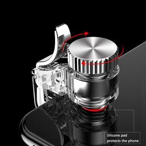 Image 3 - Metal PUBG Mobil Oyun Denetleyicisi Gamepad Tetik Yangın Düğmesi Amaç Anahtar L1 R1 Shooter Pubg Smartphone Gamepad Aksesuarları