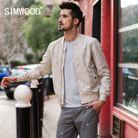 SIMWOOD Hot Sale 2018 Autumn New Thin Jackets Men Pockets Fashion Windbreaker Casual Brand Coats Slim Fit Plus Size 180110