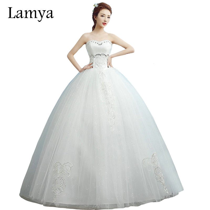 Cheap Plus Size Ball Gown Wedding Dresses